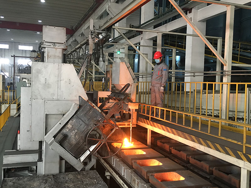 FVN automatic casting machine